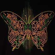 Digital Butterfly T-Shirt